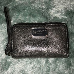 Marc by Marc Jacobs silver wallet!